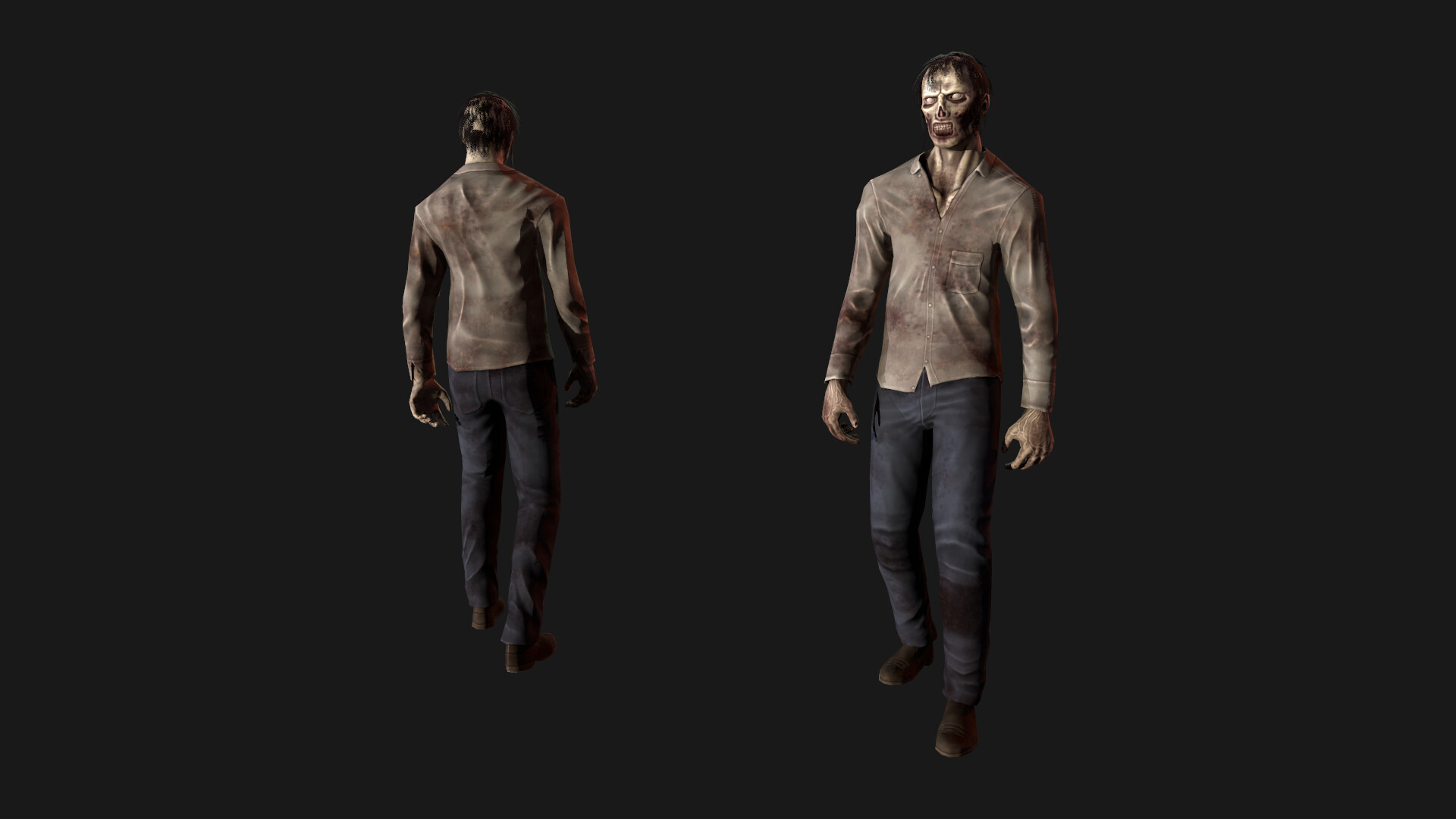 Zombie | 3D modeling animation