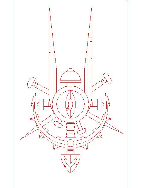 герб красный