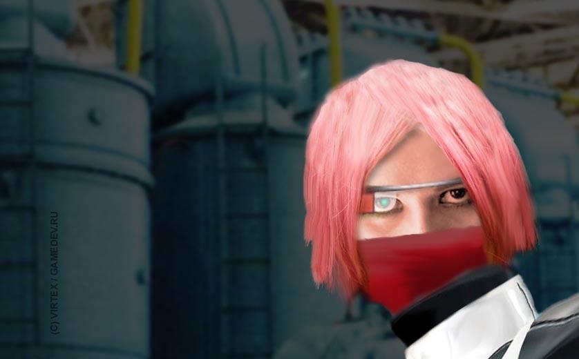 Девушка-ниндзя - концепт | Saboteur 3 - ниндзя возвращается