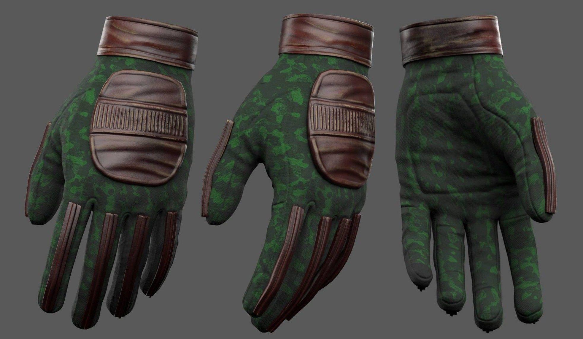 gloves-military-combat-soldier-armor-scifi-fantasy-3d-model-low-poly-obj-mtl-fbx-ma-mb (1) | 3d artist