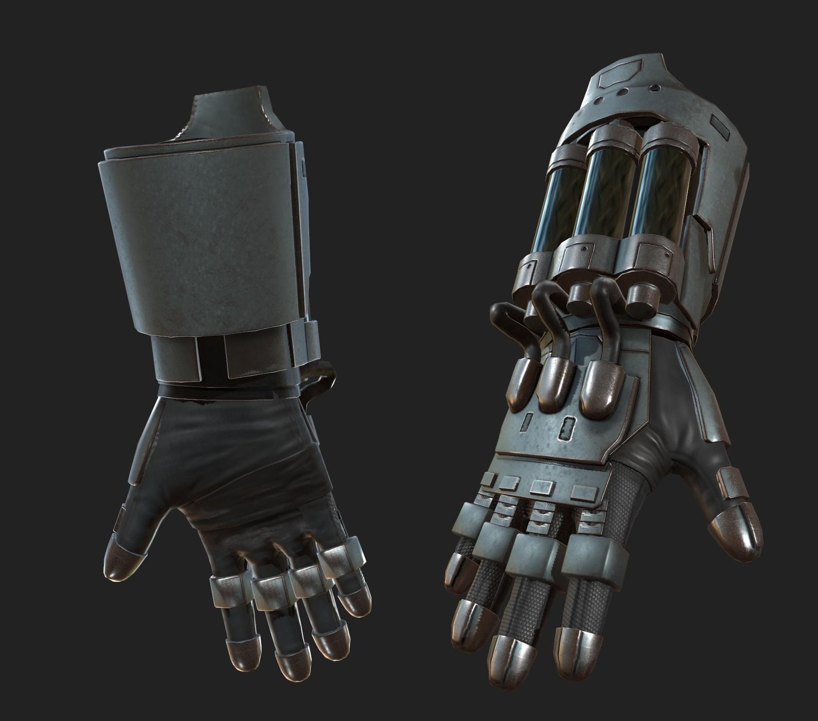gloves-scifi-ver-8-3d-model-low-poly-fbx (1) | 3d artist