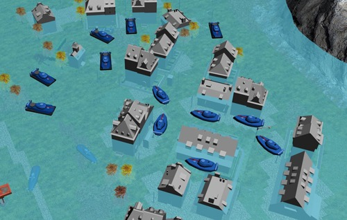 город | водная мировая война RTS