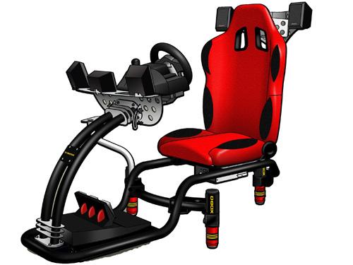 GP-200-gaming-chair | Motion Pro и симулятор F-1, подвижная платформа ощущений