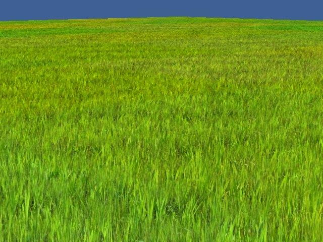 CFTG Grass - результат | Идея отрисовки фейковой дальней травы