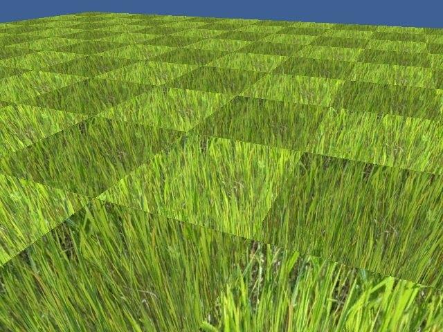 Camera-Faced Granules | Идея отрисовки фейковой дальней травы