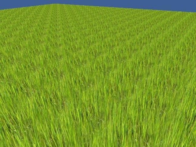Interpolated Granules | Идея отрисовки фейковой дальней травы