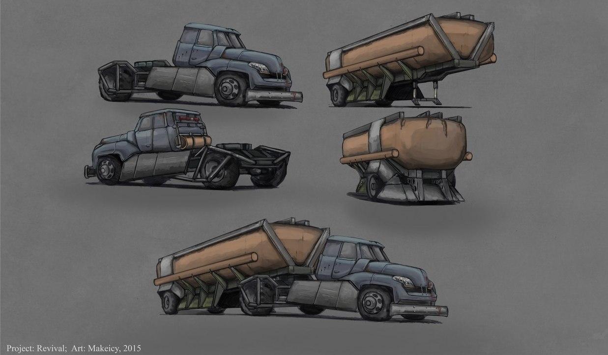 "Benzovoz | UPDATED 13/10/15 Postnuclear RPG (двиг. готов) ""REVIVAL"" Нужны люди в команду"