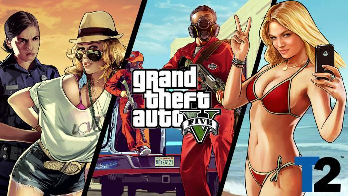 GTA V: Grand Theft Auto V | 32 миллиона копий GTA V вывели компанию Take-Two в топ.