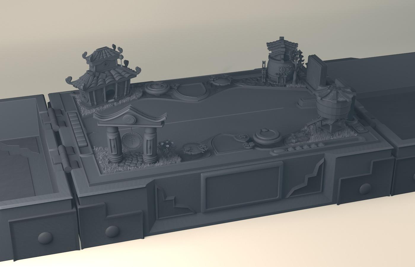 Hearthstone_14 | Houdini technical artist / 3D modeller