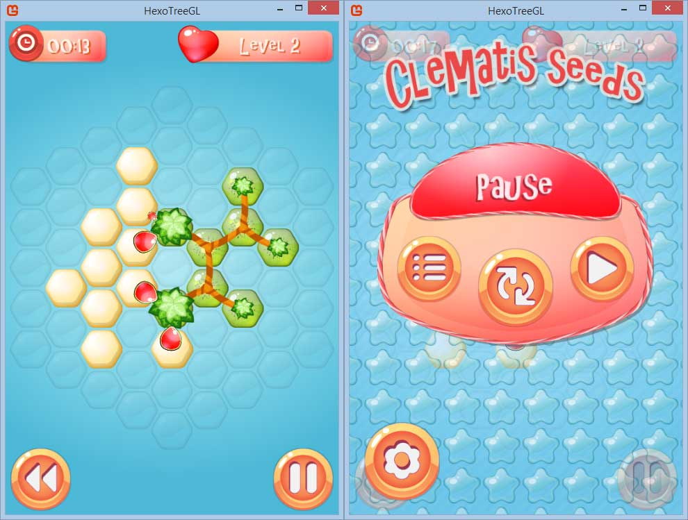 hexotree2 | [ANDROID/IOS/WP][PUZZLE] Clematis Seeds