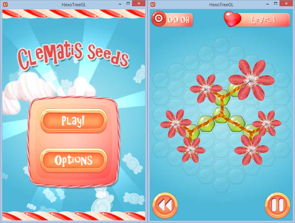 hexotree3 | [ANDROID/IOS/WP][PUZZLE] Clematis Seeds