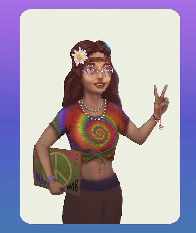 Hippie1 | Концепт-художник. Разные стили. 2D (в основном) + 3D (изредка)