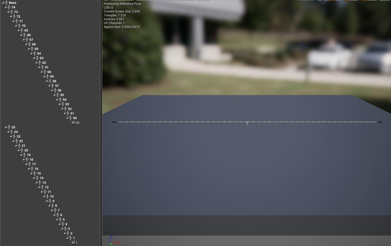 Hose | UE4. Реализация физики шланга