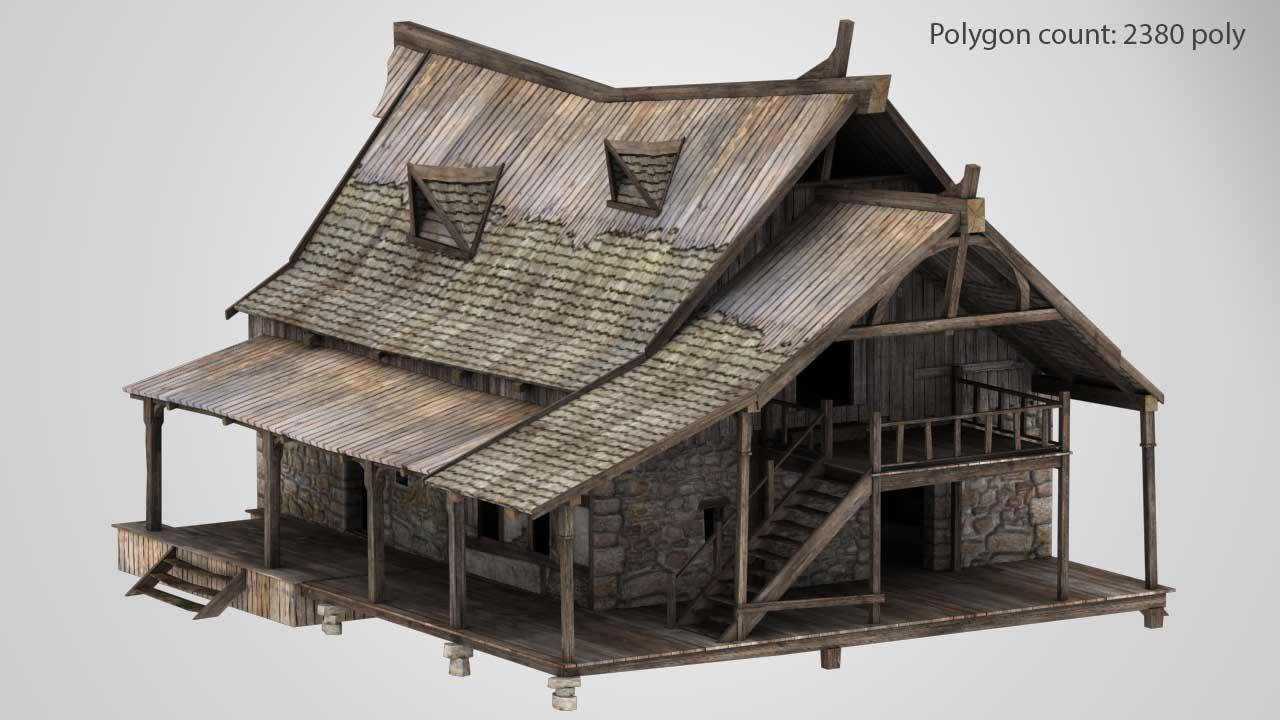 house_01_01_low | 3D Artist