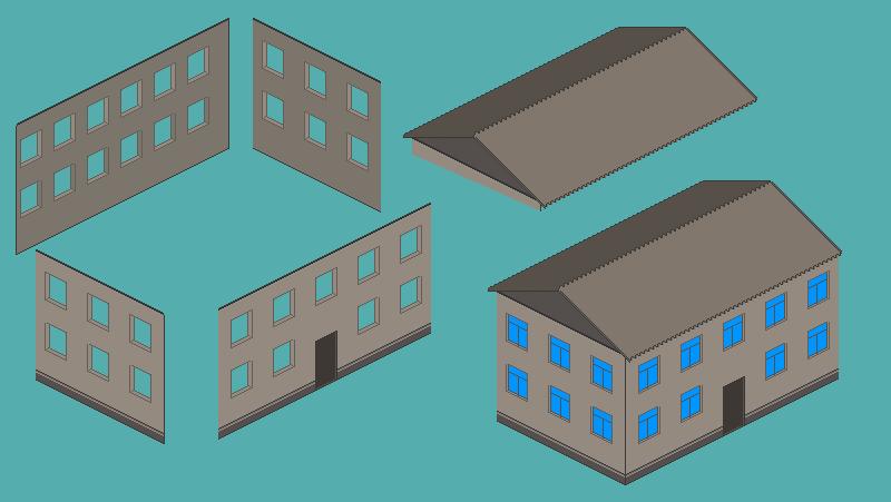 House_1 | Текущие цены на пиксель-арт (изометрию)
