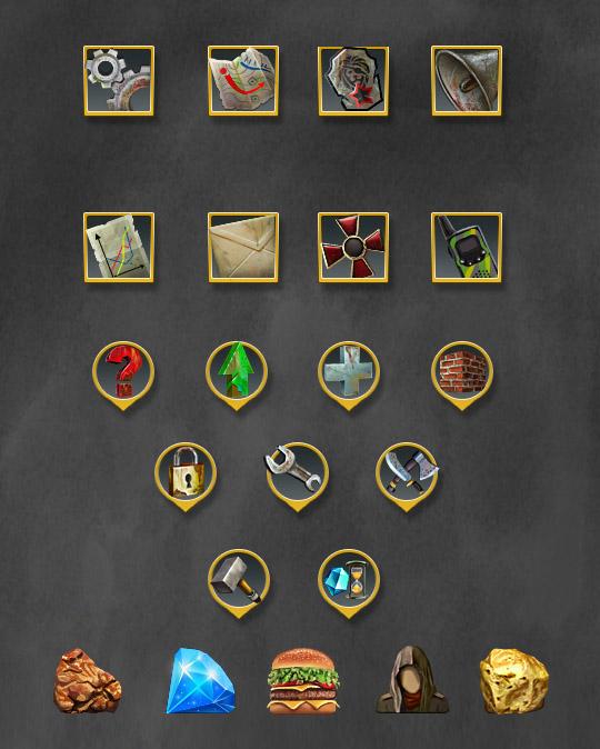 неоплаченные иконки | 2D художик (портреты или элементы интерфейса)