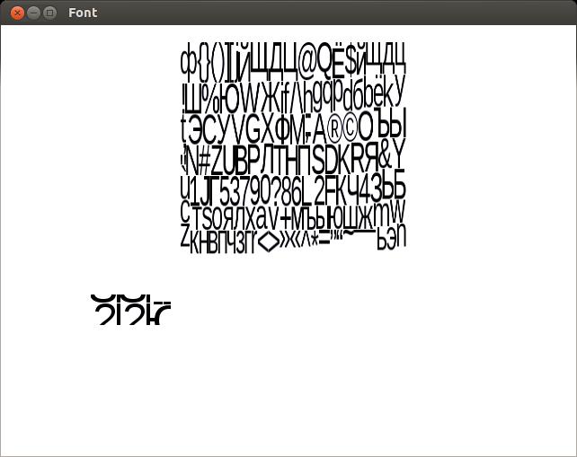 image0 | [v 1.1] UBFG - Генератор растровых шрифтов