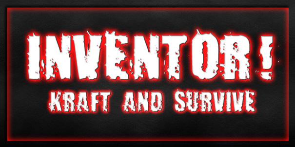 """Логотип проекта """"INVENTOR! Kraft & Survive""""   Проект: """"INVENTOR! Kraft & Survive""""."""