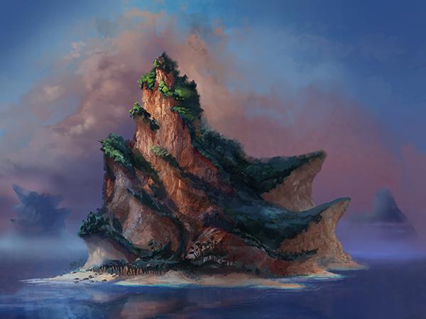 Island | 2D Artist