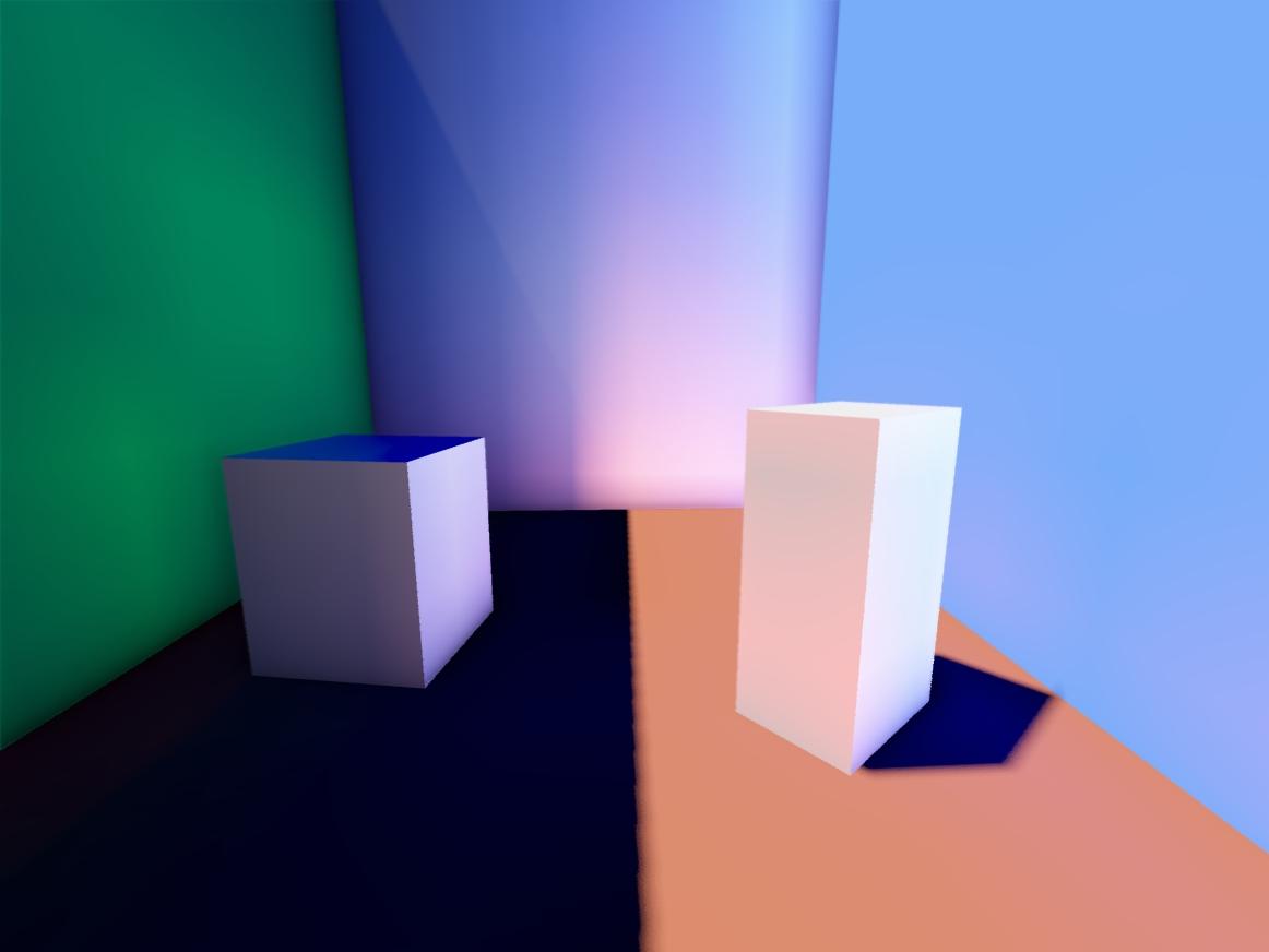 iterations_16 | Объемы распространения света для непрямого освещения в режиме реального времени.