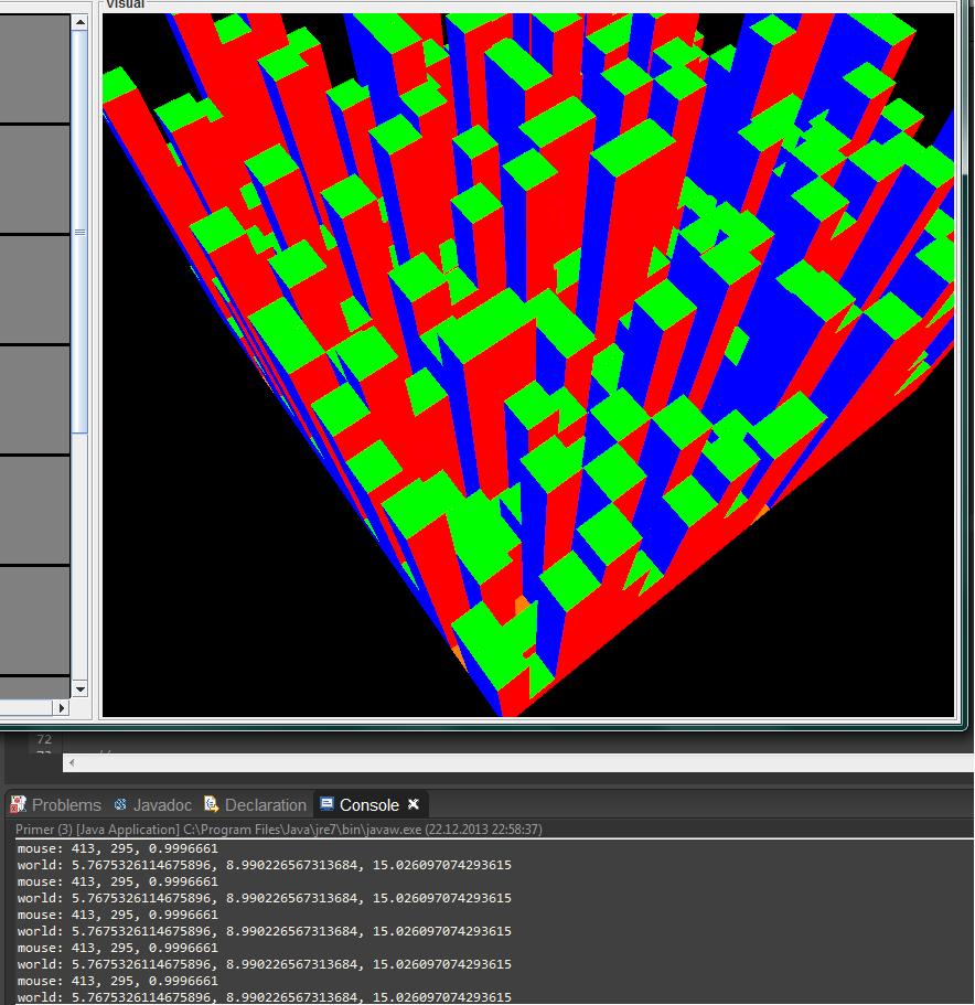 jogl ray pick | Способ выделения объектов мышью в OpenGL приложениях. (Комментарии к статье)