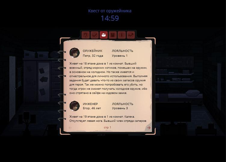 journal3_personage   В команду по созданию игры в жанре Survival horror требуются 2D художник аниматор.(Энтузиазм)