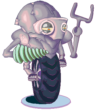 Kernel Bug crawler machine hero | Kernel Bug - platformer\runner adventure