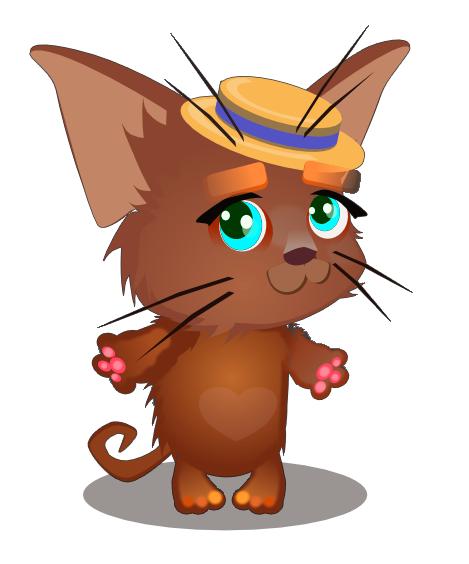 kitten casual 2d art | Состоялся релиз трехмерного WebGL движка Blend4Web