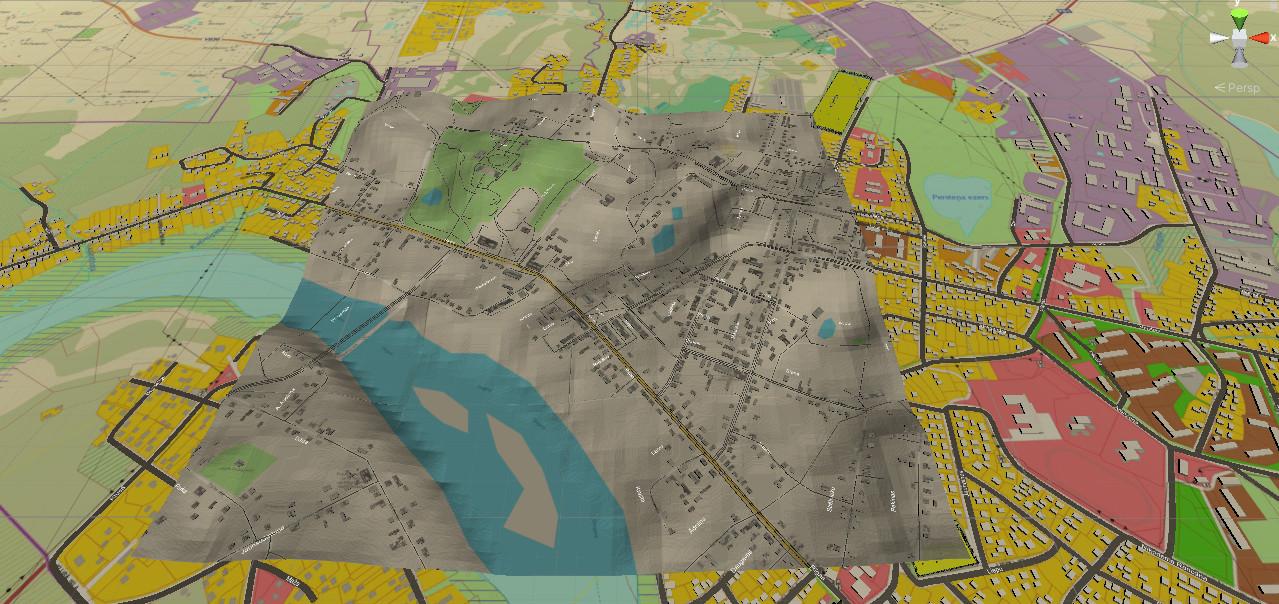 kmap   Стратегия аля СимСити, на примере точной копии одного города