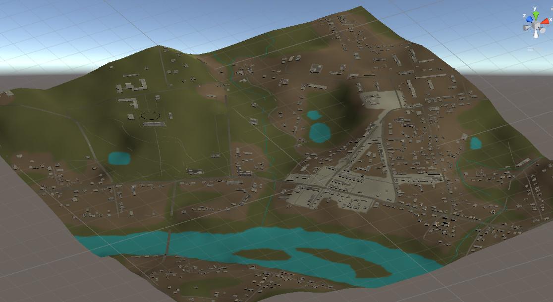 kmap2   Стратегия аля СимСити, на примере точной копии одного города