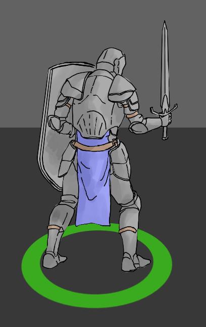 Рыцарь (TPS 2D)