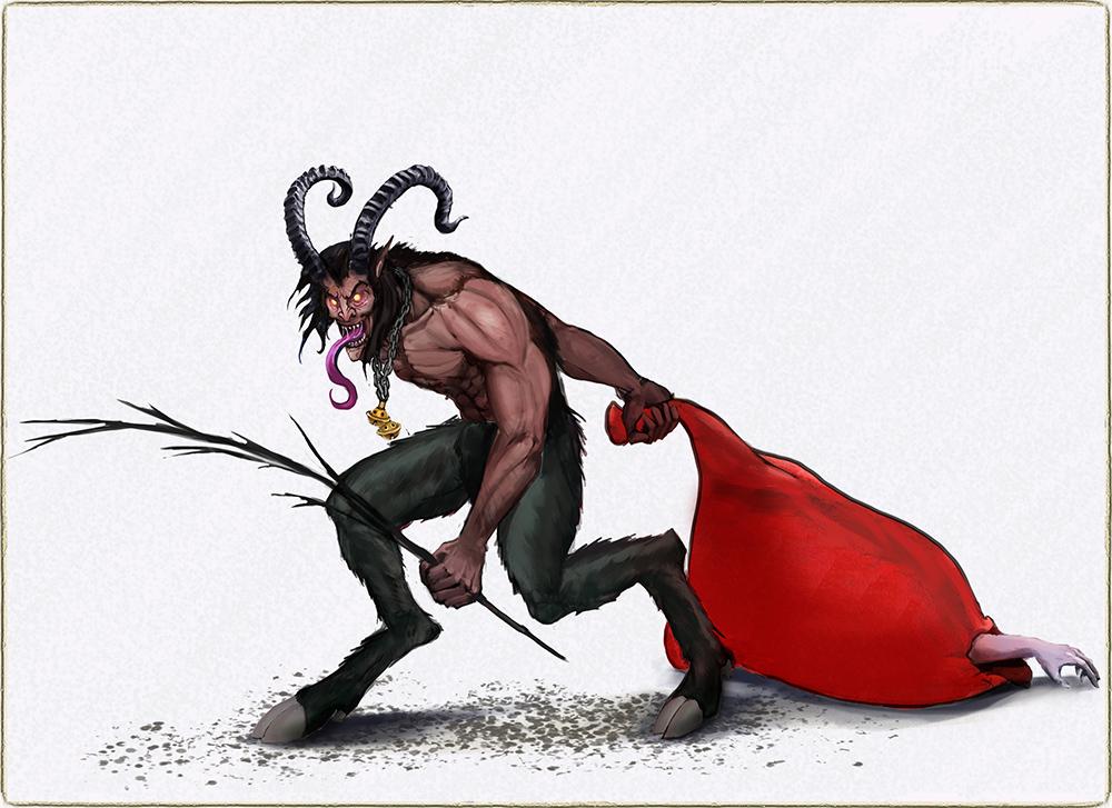 Krampus | Концепт-художник. Разные стили. 2D (в основном) + 3D (изредка)
