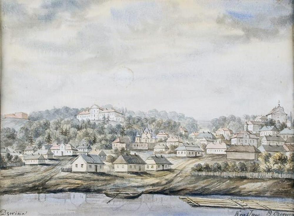 Kraslau,Dvina(N._Orda,_1875-76)   Стратегия аля СимСити, на примере точной копии одного города