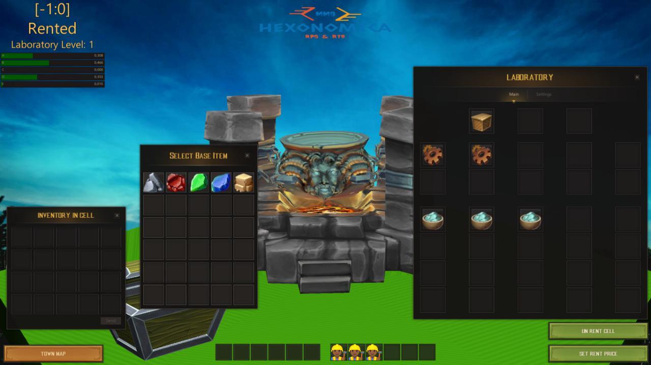 LabBld | Собираю команду. Online экономическая стратегия с элементами RPG (энтузиазм)