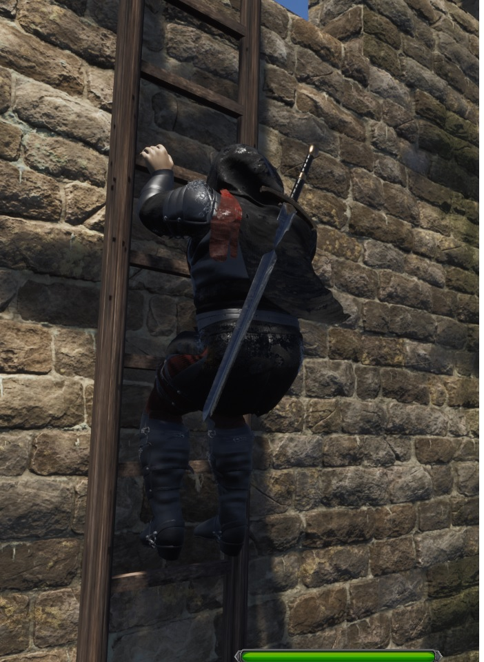 Ladder2   Black Castle - RPG в средневековом dark fantasy