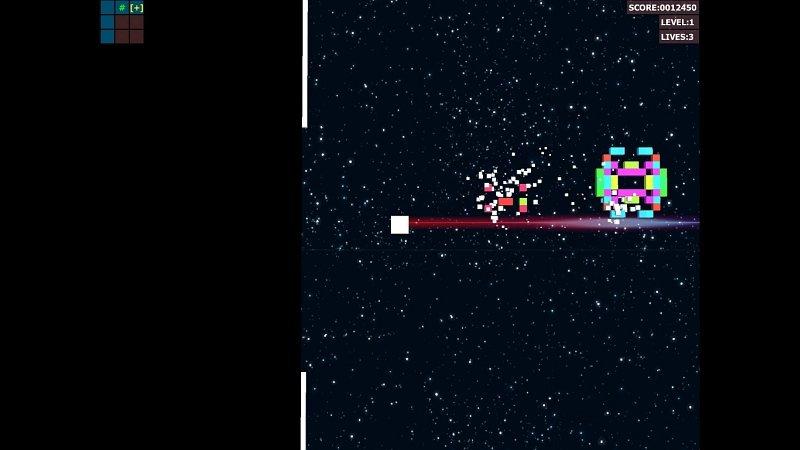 Laser Dungeon | Laser Dungeon (Space Dungeon clone from ATARI)
