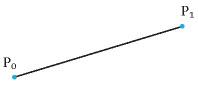 Linear bezier curve | Редактор функций на основе кривых Безье