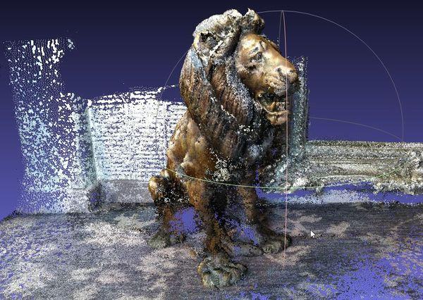 lion_meshlab | Представляю Urho3D в реальности - HoloLens