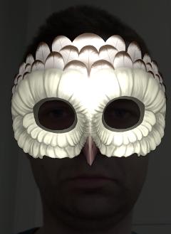 lightmask | Отсечение части объекта.
