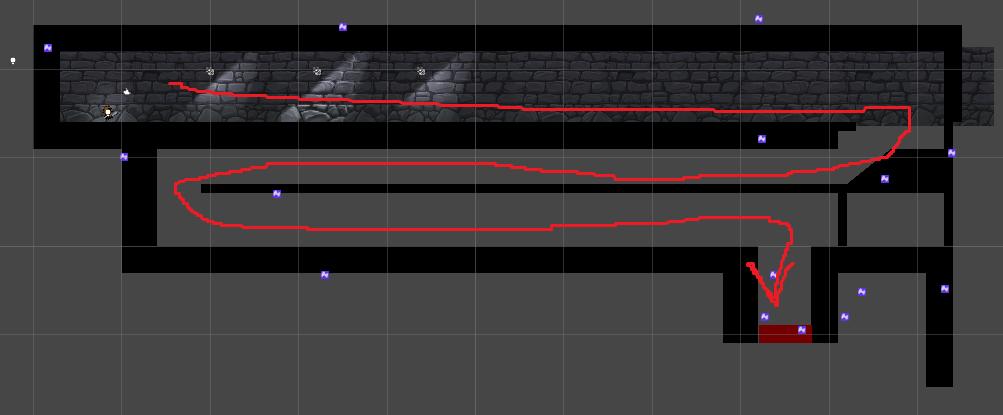 Лока 1   Сборка 2Д уровней метроидвании на Юнити