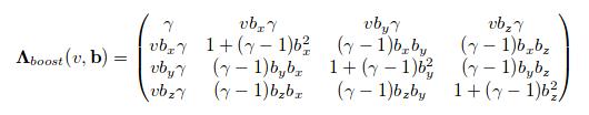 Loretz_Boost | Сложный вопрос по Релятивистской-Физике