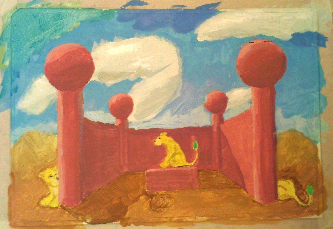 lvlvlv | Maltakreuz рисует львиц и не только