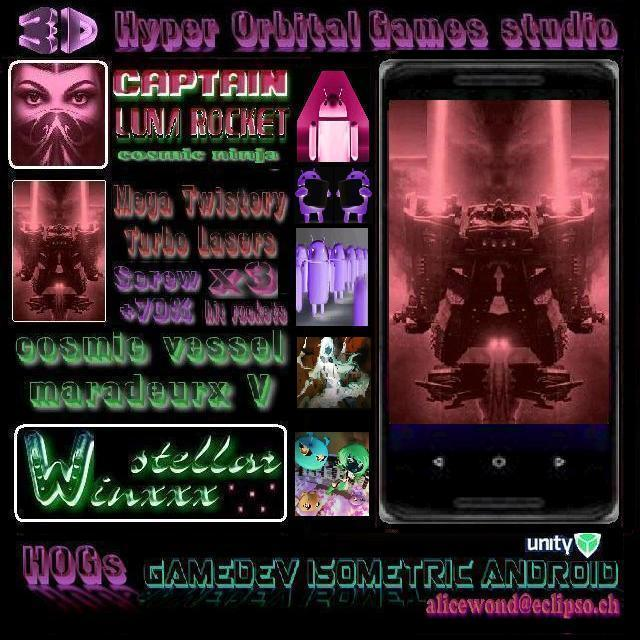 Hyper Orbital Games hog AMF Alice Morphia Fantom 5 | как разрабатывать игру фантом
