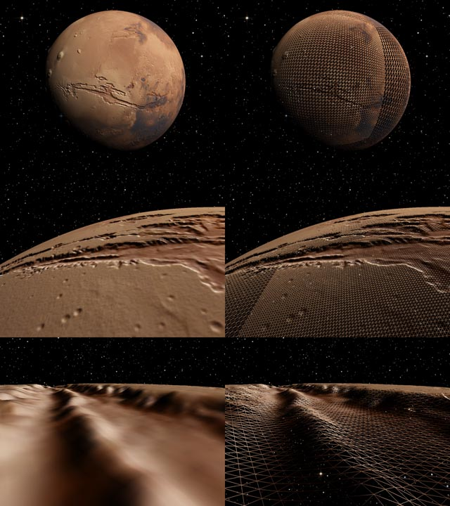 Mars | Космический симулятор SpaceEngine