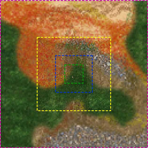 mega-01-lo | Использование мегатекстур (megatexture, clipmaps).