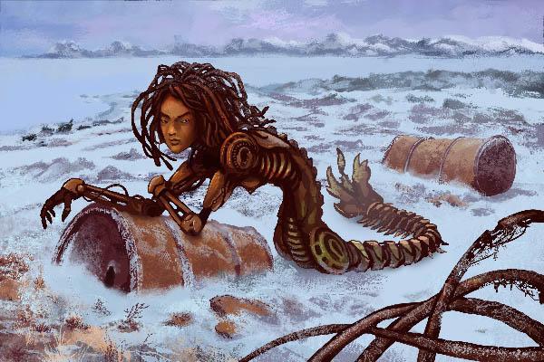 Arctic Shrimp | 2D Artist