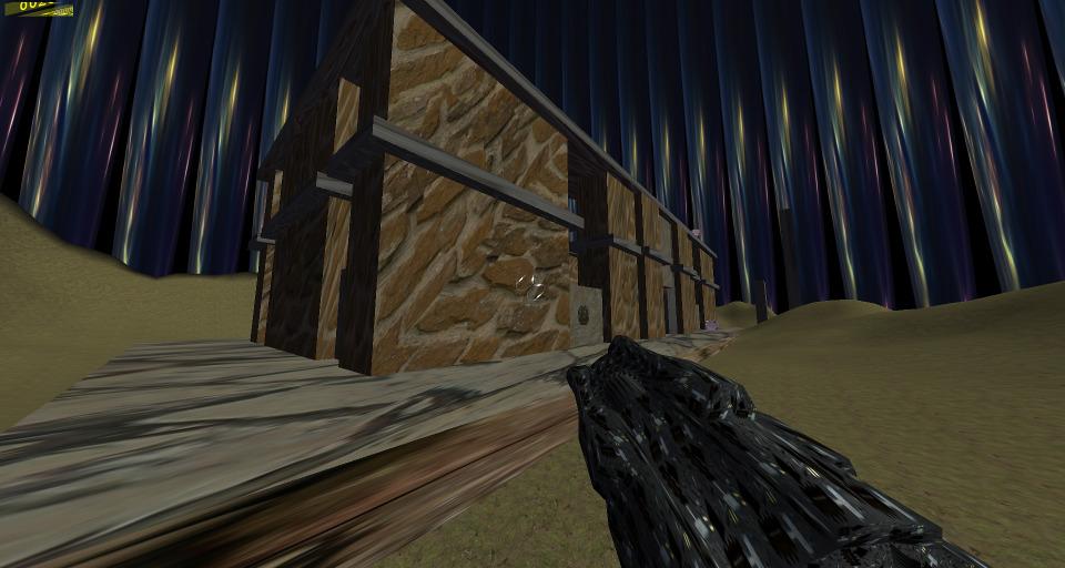 Mikle FPS Shooter under Wine