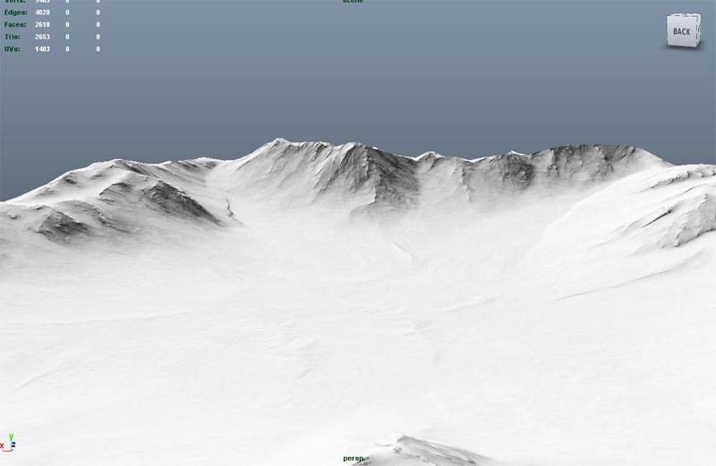 Горы | Модели KaDmiy-я