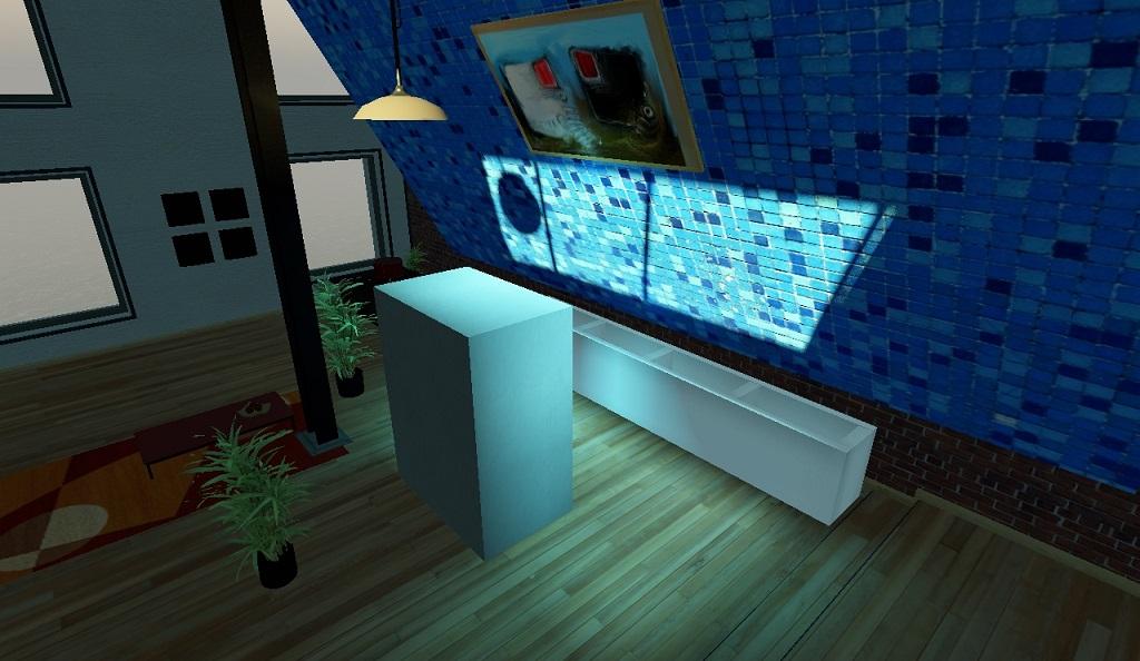 Рендеринг с одной сеткой ОРС размера 32 в кубе | Объемы распространения света для непрямого освещения в режиме реального времени.
