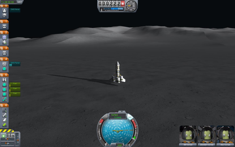 Mun | Kerbal space program